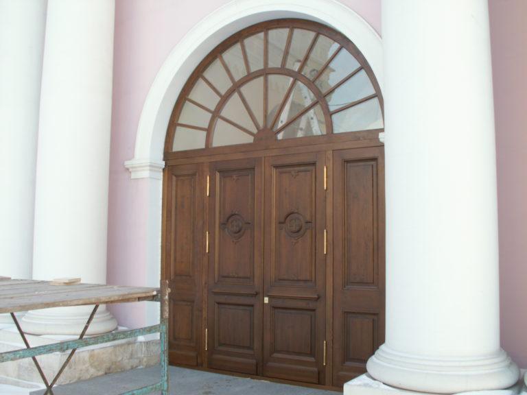 Двери массив ольхи Белорусские двери из массива ольхи